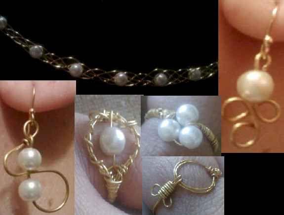 wire jewelry: Wire Jewelry, Wire Work, Jewelry Inspiration, Jewelry Wire Met, Diy Jewelry, Crafts Jewelry, Initials Necklaces, Jewelry Ideas, Earrings Jewelry