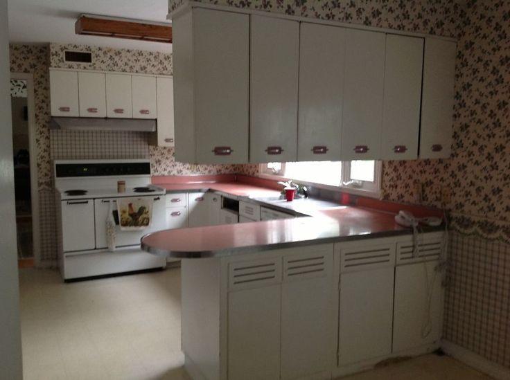Best Vintage Retro Metal Kitchen Cabinets Geneva Mid Century 400 x 300