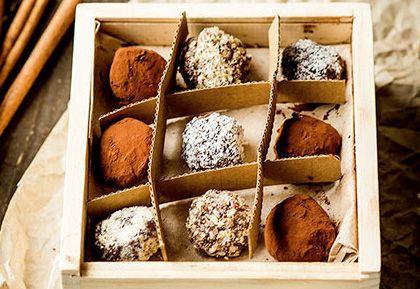 Čokoládové trufflé - krásny vianočný darček