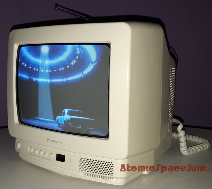 "Panasonic Vintage Color Television 10"" Tv Model Ct-9r10t"