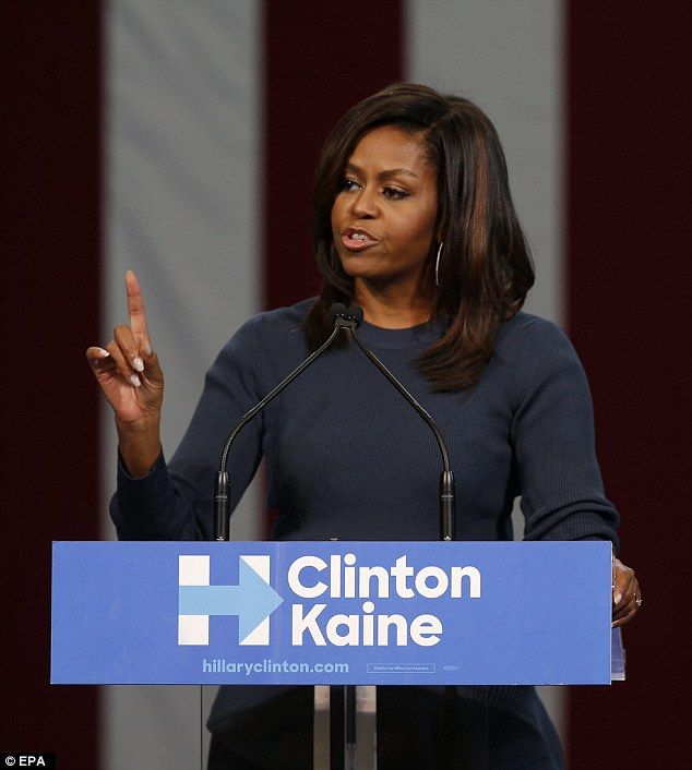Michelle Obama likened the women who are accusing Trump of misdeeds to American women ever...