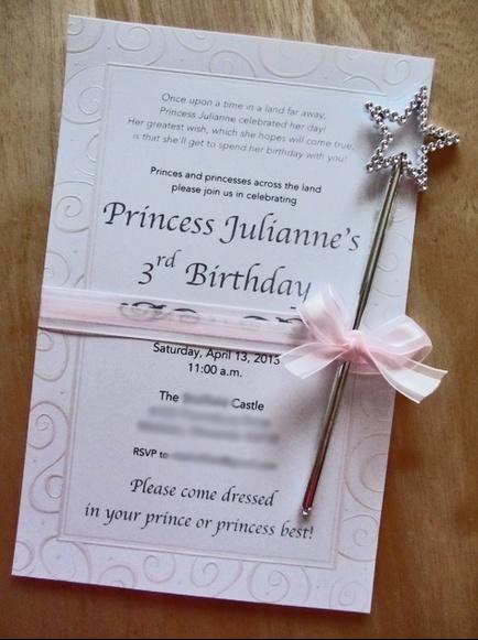 Princess Party Invitation - Crafty Party