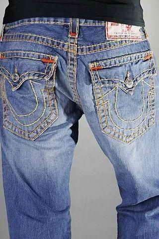 Men True Religion Jeans-035
