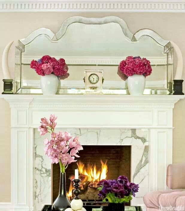 What to on your mantel for spring