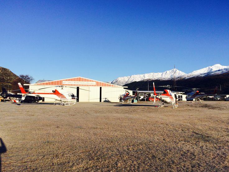 Our hangar, 35 Lucas Place, Queenstown Airport, New Zealand
