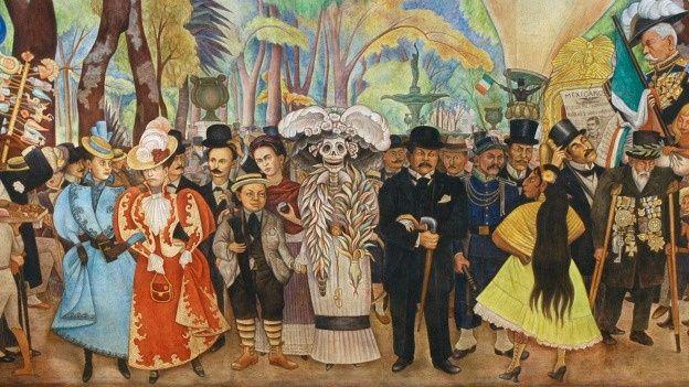 La vida es arte: MURALISMO MEXICANO