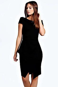Laura Wrap Skirt Bodycon Dress
