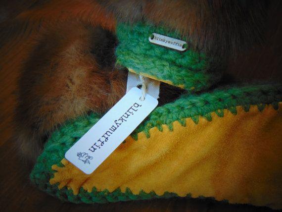 Viking Slipper- moss Mink Size 6