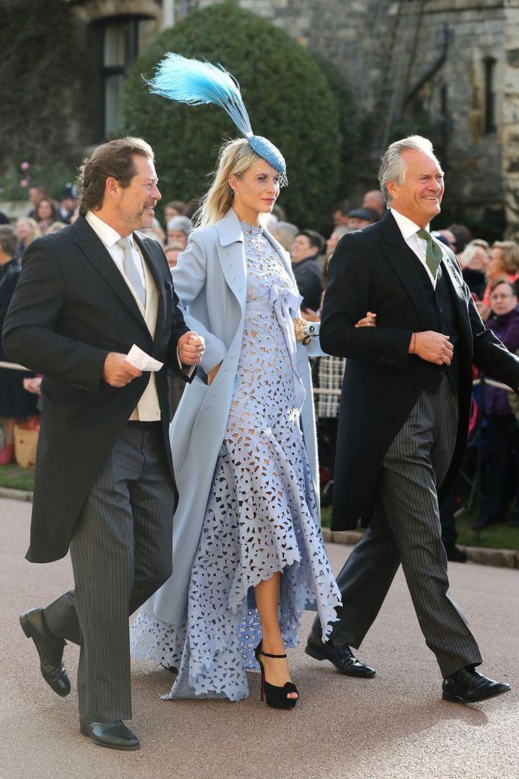 Cara Delevingne Broke The Royal Wedding Dress Code in the