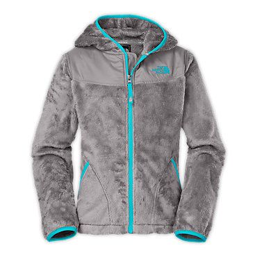 Cute fuzzy North Face hoodie