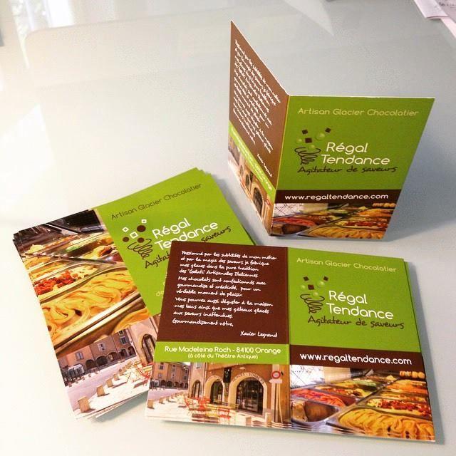 Régal Tendance - Chocolatier à Orange création des cartes de fidélité