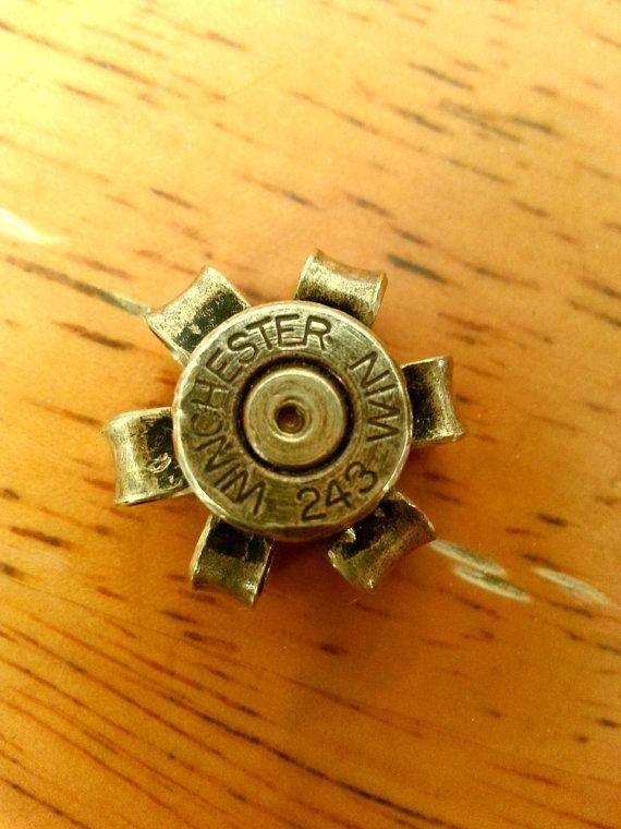 243 Winchester Bullet Flower by BulletPoints on Etsy