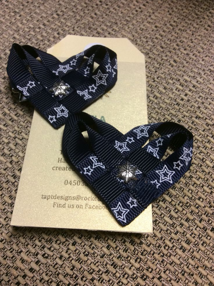 Navy blue stars. For my daughter for school.