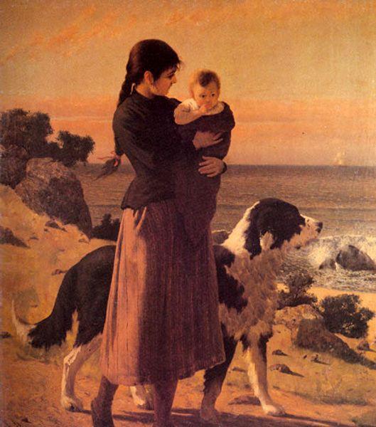 Pedro Lira (1845 – 1912, Chilean)