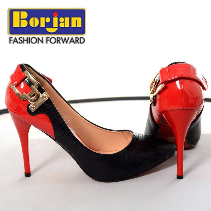Latest Borjan high heel footwears For women 2014 3 Borjan Fashion Party Shoes Winter 2014 for Women