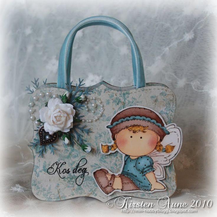 Kirstens Blogg: A little purse again...
