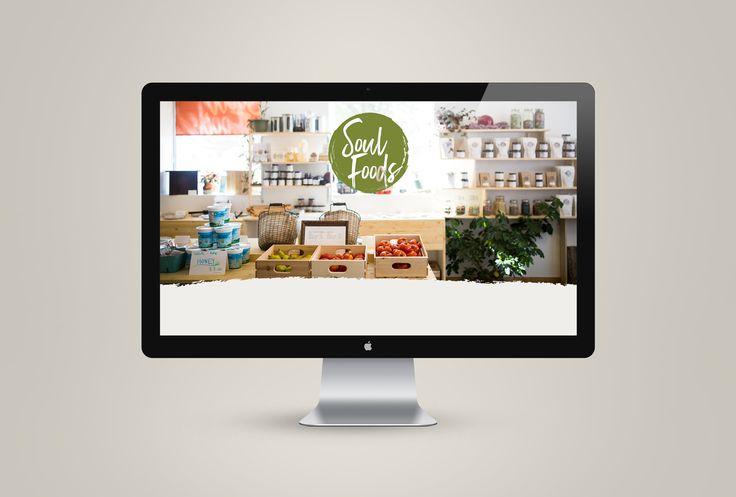 Website design for Soul Foods. #graphicdesigner #websitedesign #CreatedbyFicus