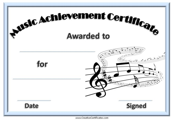 44 Best Diplomas For Music Images On Pinterest Certificate
