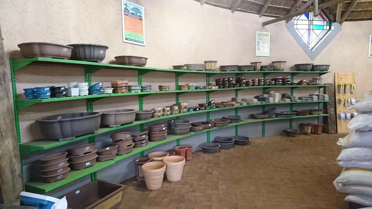 Some of our pots
