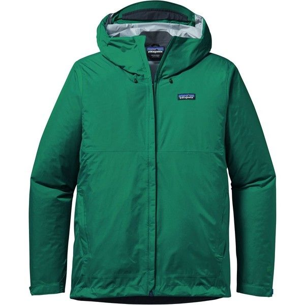 Patagonia Torrentshell Jacket ($65) ❤ liked on Polyvore featuring men's fashion, men's clothing, men's outerwear, men's jackets, mens waterproof jacket, mens jackets, patagonia mens jacket and mens summer jackets