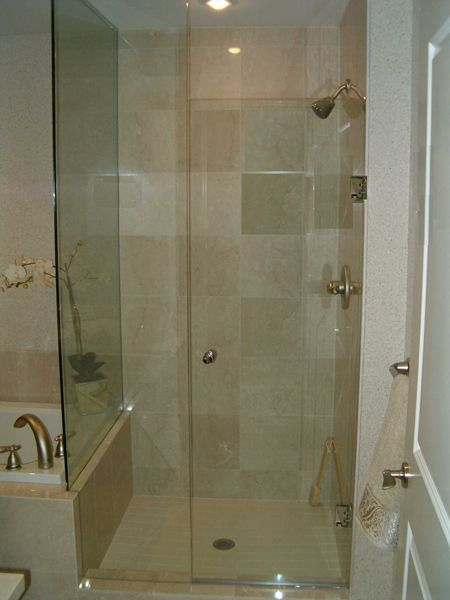 Glass Shower Doors To Ceiling Bathrooms Pinterest