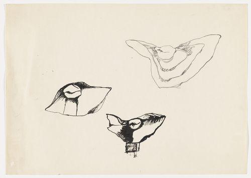 "Alina Szapocznikow. Untitled (Sketch for the Sculpture ""Metamorphoses 1""). (c. 1961)"