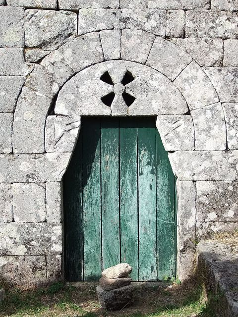 Pitões das Júnias Monastery (Pre-Romanesque, 9th century) @ Gerês National Park - Portugal
