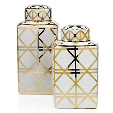 Alexa Canister | Decorative-accessories | Accessories | Decor | Z Gallerie