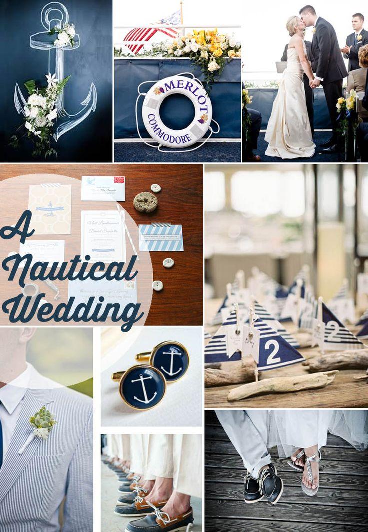 Nautical Wedding Ideas - Beautiful Ideas for a Seaside ...