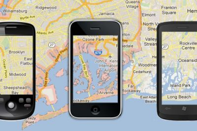 gps tracking google maps iphone
