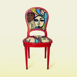 Refurbished Louis XVI chair