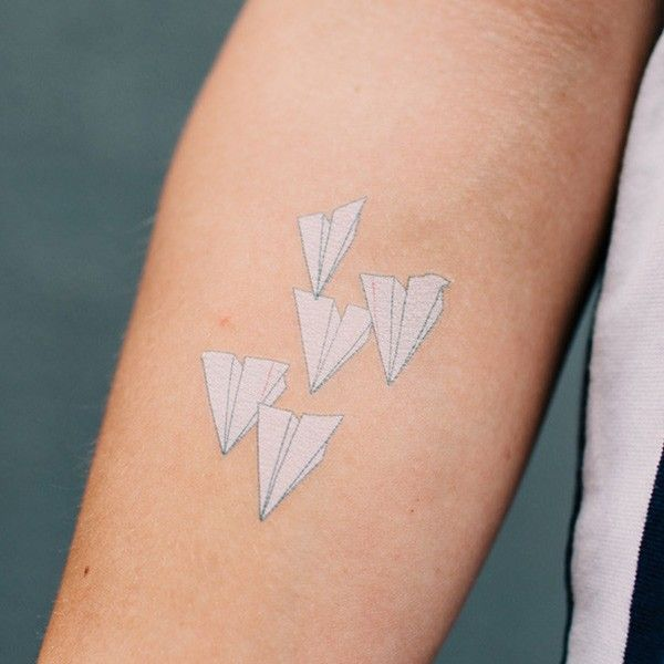 Paper Airplane Tattoos Meaning Pin paper airplane tattoos meaning i ...