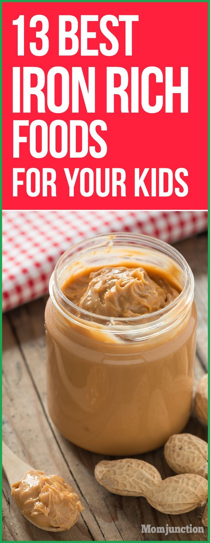 13 Best Iron Rich Foods For Your Kids