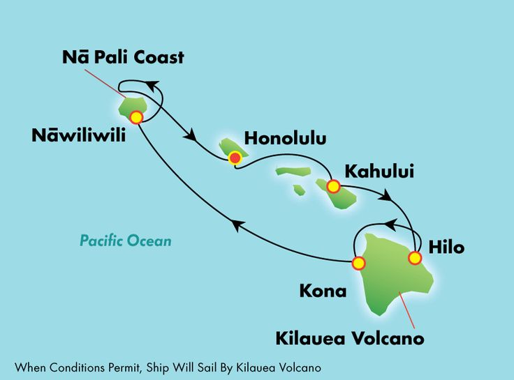NCL Pride of America. 7-Day Hawaii, Round-trip Honolulu