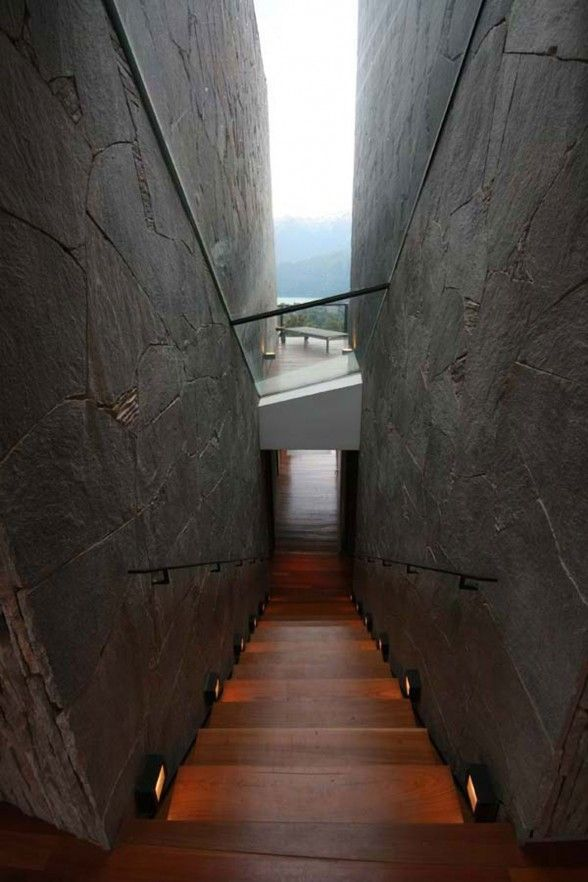 : Interior, Stairs, Staircase, Galindez Architect, Architecture, House, Space, Design