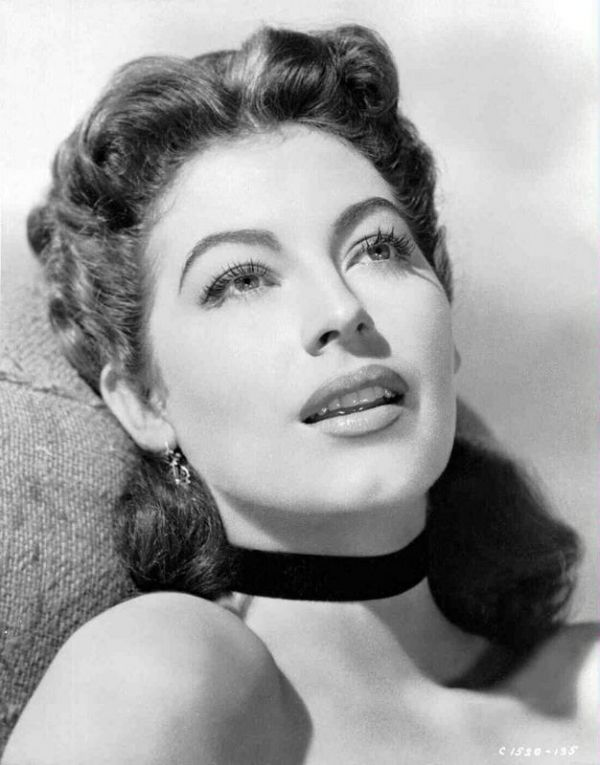 Ava Gardner (not a rock star, but a muse for sure)