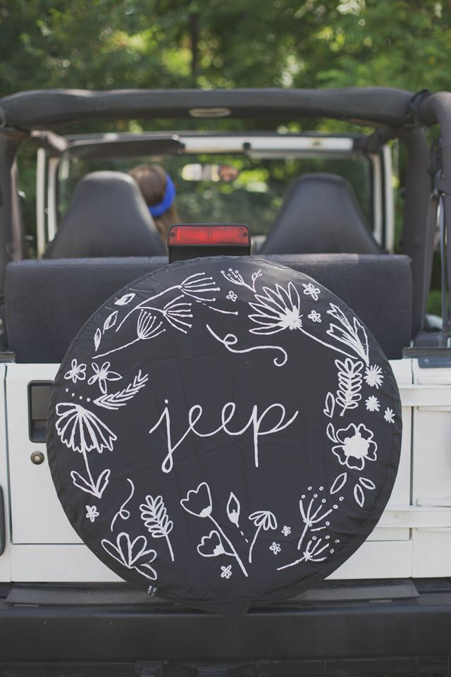 Always Rooney: Jeep Tire Cover Restyle