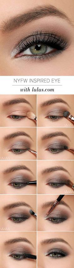 50 makeup tutorials for green eyes - amazing green eye makeup tutorials for work for prom for weddings for every day easy step by step diy guide for beautiful natural look- thegoddess.com/makeup-tutorials-green-eyes