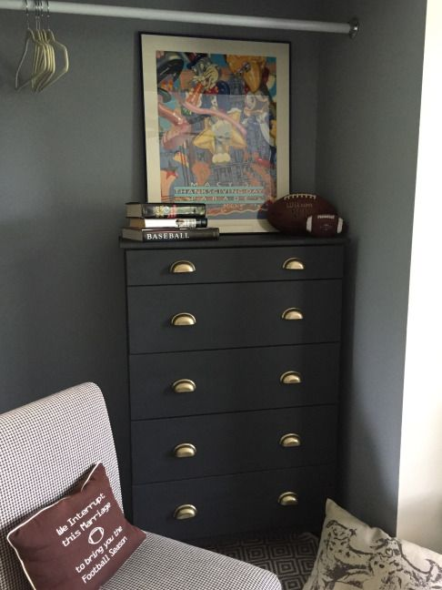Ikea hack tarva dresser no 2 annie sloan chalk paint graphite ikea drawer pulls diy ideas No dresser in master bedroom