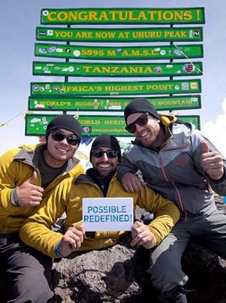 INSPIRATIONAL!!!  Spencer West, Double-Amputee, Climbs Kilimanjaro Using Only His Hands.    www.coachadhd.com