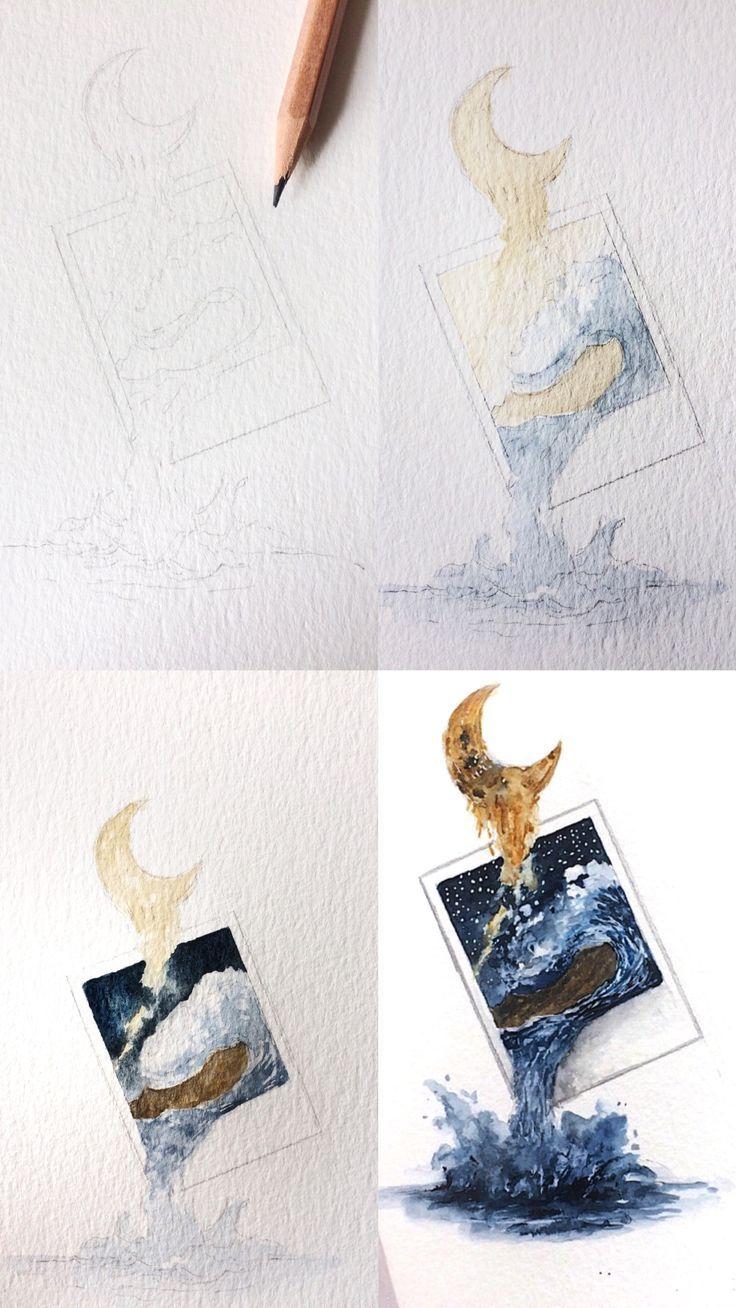 Rosie Shriver Sketchbook Watercolor Painting Pro Drawing