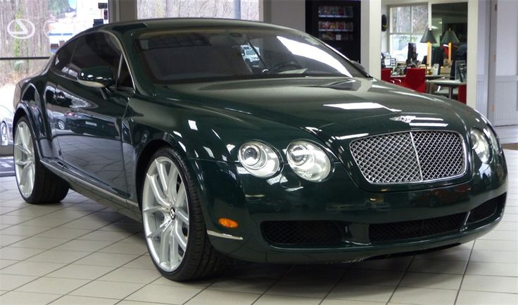 2005 Bentley Continental GT 2 Dr Turbo Coupe - $47,527