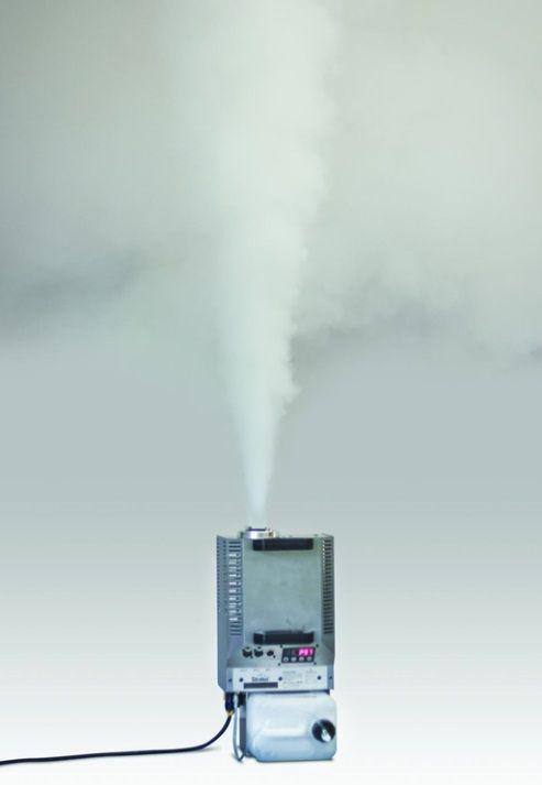 Generador Humo Cumulus de maxpreven El FireSales Cumulus es desarrollado, basado en años de experiencia de FireSales . La máquina puede llenar fácilmente y rápidamente una habitación con humo, pero también puede crear un fuego latente, ya que la salida es ajustable de 1 a 99% . Hasta el 48 % de una salida continua es posible. Usted puede hacer una columna vertical de humo al poner la máquina en su parte trasera. Esto genera un realista acumulación de humo contra el techo. #generadorhumo…