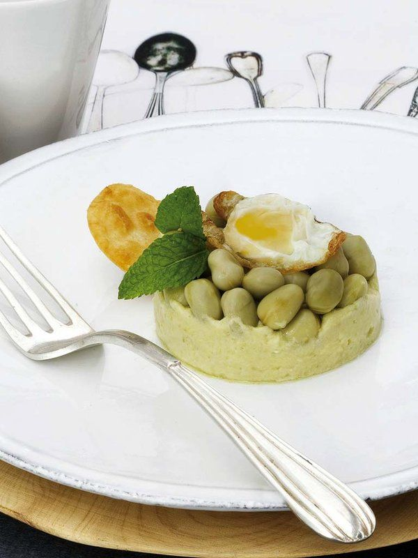 467 best images about ensaladas on pinterest avocado - Ensalada de habitas ...