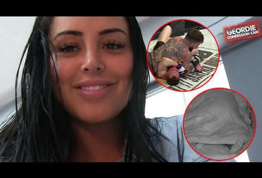 Geordie Shore's Marnie Simpson Admits Aaron Chalmers Has 'Learnt Some New Bedroom Moves' As She Talks About Their Sh*g Pad Session - EXCLUSIVE | MTV UK