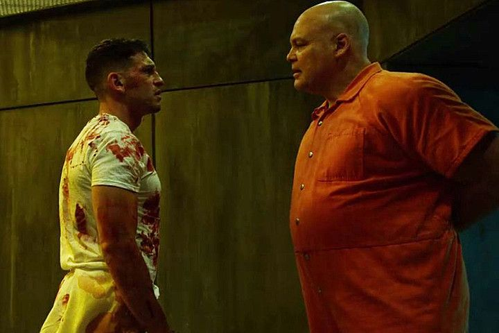 Punisher and Kingpin (Daredevil, Netflix)
