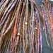 "Single 25"" Dread Any Color Combo Natural or Crazy Custom Colors Accent Extra Long Dread Extension Hand Crocheted Knotty Synthetic Kanekalon. $6.00, via Etsy."