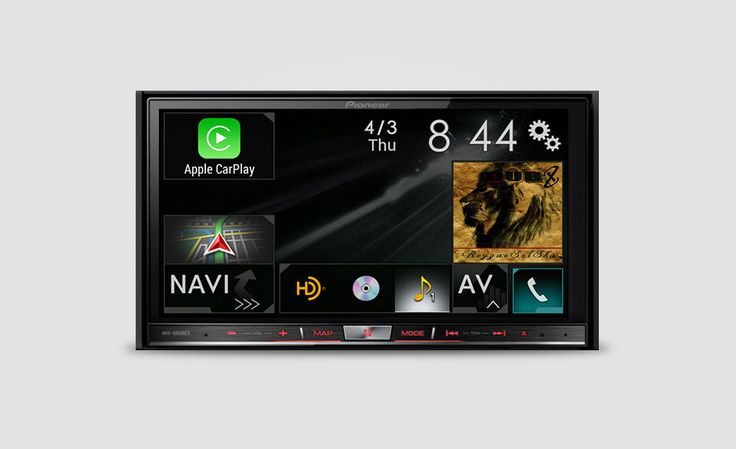 Pioneer NEX Receivers with Apple CarPlay   Cool Material. If you're not planning on buying a new car this year, or you haven't already, you can't have Apple CarPlay. Unless you happen to have a Pioneer NEX Receiver in your car or you're willing to have one installed. With nothing more than a simple firmware update and a lightning cable, Pioneer can give you all the Apple CarPlay goodies without having to get a brand new whip.