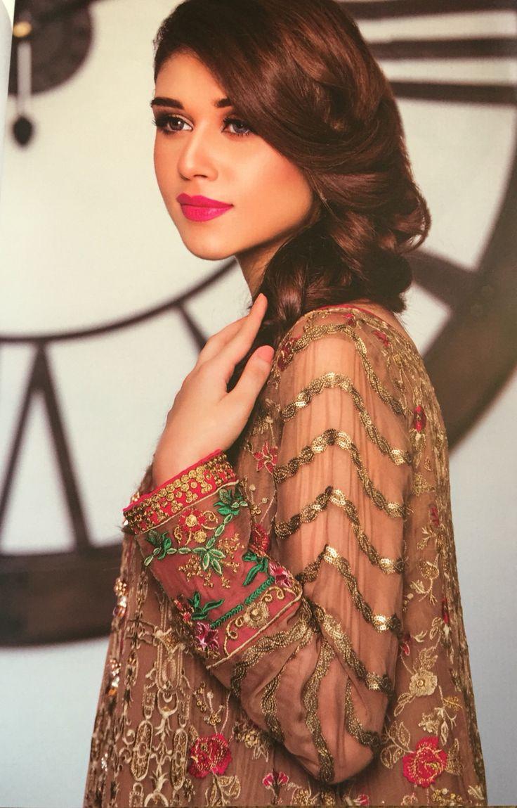 LUXURY Designer Chiffon Suit Shop online www.pinkphulkari.com California based company