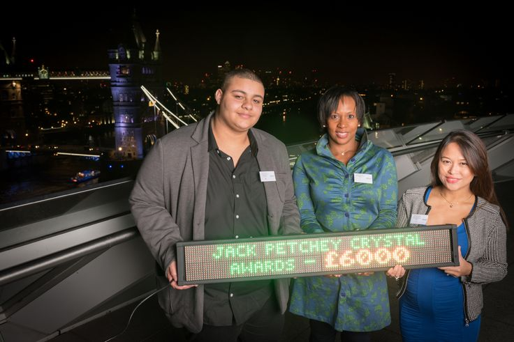 Suzann McLean and Tyler Mitchell at the Special Event in City Hall to receive Young and Talented's Jack Petchey Crystal Award. Young and Talented are one of 150 organisations (out of 2000 organisations) chosen to receive a special Jack Petchey Crystal Award to celebrate the foundation's 15th birthday, in recognition of our ongoing commitment to young people and maintenance of high management standards.Thanks to the Jack Petchey Foundation, Young and Talented has become a place for young…